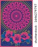 psychedelic art poster ...   Shutterstock .eps vector #1646279797
