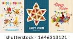 set of vector illustration to... | Shutterstock .eps vector #1646313121