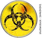 computer virus warning sign ...   Shutterstock .eps vector #164634341