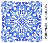 azulejos   portuguese dutch and ... | Shutterstock .eps vector #1646362147