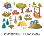 forest picnic and camping... | Shutterstock .eps vector #1646410267