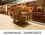 Vintage Photo Of Suitcases Next ...