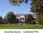 library and campus of the... | Shutterstock . vector #164643794