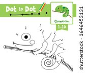 dot to dot educational game and ... | Shutterstock .eps vector #1646453131