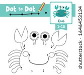 dot to dot educational game and ... | Shutterstock .eps vector #1646453134