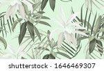 Foliage Seamless Pattern  Gree...