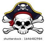A Skull And Crossbones Jolly...
