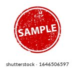 sample sign sticker. stamp... | Shutterstock .eps vector #1646506597