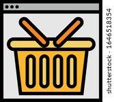 basket   ecommerce icon set....