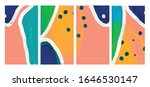 creative abstract backgrounds... | Shutterstock .eps vector #1646530147