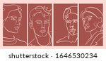 set of templates with... | Shutterstock .eps vector #1646530234