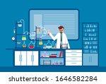 illustration laborant scientist ... | Shutterstock .eps vector #1646582284