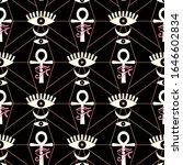 esoteric  mystical eye symbol... | Shutterstock .eps vector #1646602834
