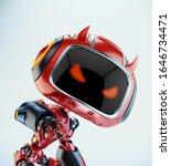 Smart Red Little Robotic Devil...