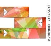 vector web element for your... | Shutterstock .eps vector #164673767
