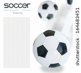 concept of the soccer | Shutterstock . vector #164683451