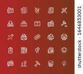 editable 25 glossy icons for... | Shutterstock .eps vector #1646853001