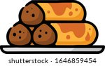 enchilada plate hand drawn icon | Shutterstock .eps vector #1646859454
