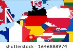 center the map of germany.... | Shutterstock .eps vector #1646888974