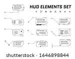 hud futuristic style callout...