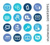 webdesign icon set and logo...