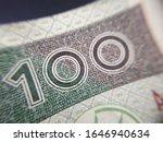 macro  pln  polish 100 zloty... | Shutterstock . vector #1646940634