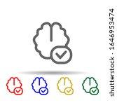 add brain multi color style...