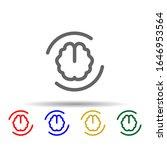 refresh brain multi color style ...