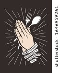 bless the food kitchen... | Shutterstock .eps vector #1646959261