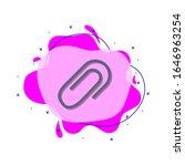 clip colored icon. simple color ...