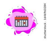 the calendar colored icon....