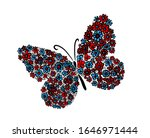 A Multi Colored Butterfly Made...