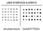 a set of user interface element ...