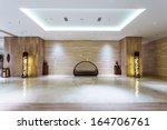 lobby of hotel   Shutterstock . vector #164706761