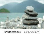 Stones Stacked On Hin Ngam...