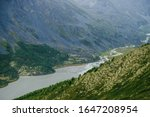Atmospheric Alpine Scenery Wit...