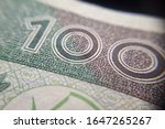 macro  pln  polish 100 zloty... | Shutterstock . vector #1647265267