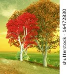 autumn landscape | Shutterstock . vector #16472830