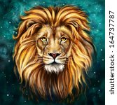 Lion Aslan Digital Painting ...