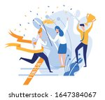 young man  dressed smart ... | Shutterstock .eps vector #1647384067