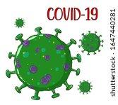 corona virus 2020.covid 19... | Shutterstock .eps vector #1647440281