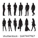 people  group of business men... | Shutterstock .eps vector #1647447967