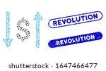 mosaic dollar swap and... | Shutterstock .eps vector #1647466477