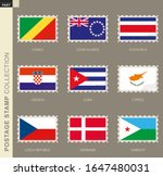 postage stamp with flag ...   Shutterstock .eps vector #1647480031