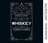 hand drawn premium alcohol...   Shutterstock .eps vector #1647526744