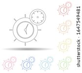 colored time management in...