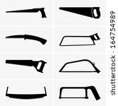 saws | Shutterstock .eps vector #164754989