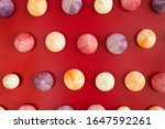 meringue kisses on a romantic... | Shutterstock . vector #1647592261