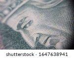 macro  pln  polish 100 zloty... | Shutterstock . vector #1647638941
