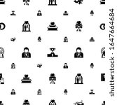 ceremony icons pattern seamless.... | Shutterstock .eps vector #1647664684